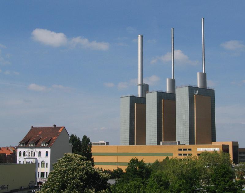Die drei warmen Brüder des Heizkraftwerk